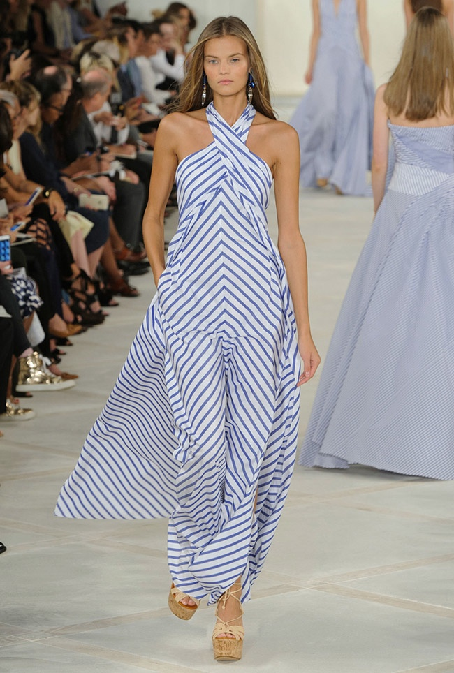 A look from Ralph Lauren's spring 2016 collection