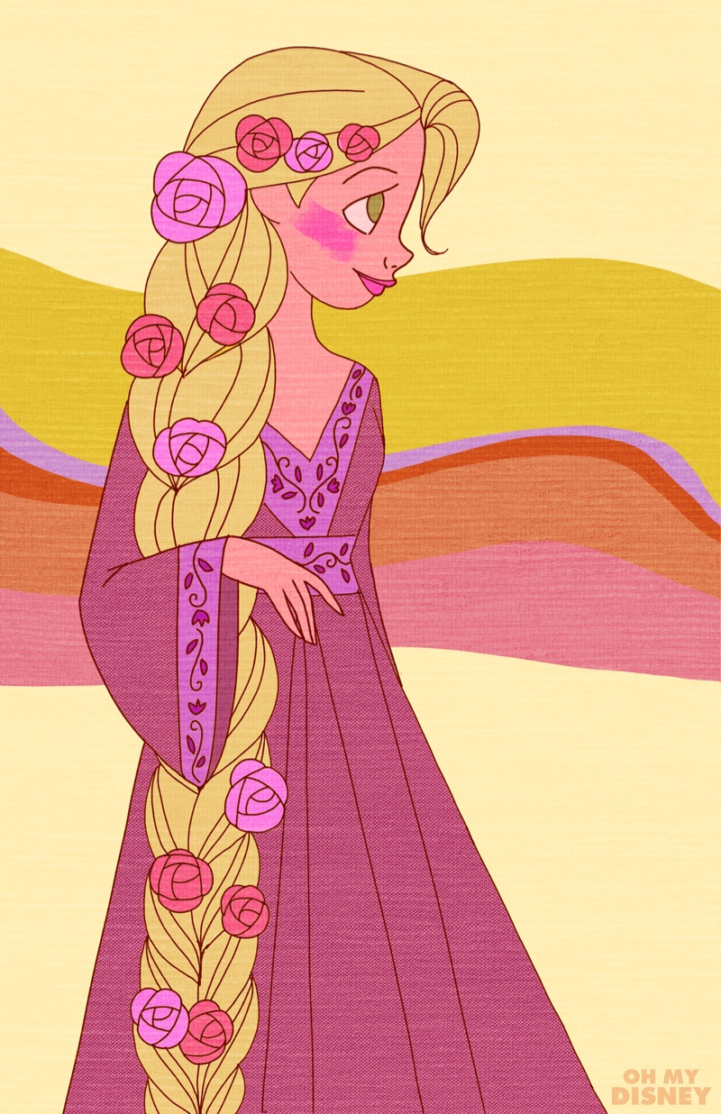 Rapunzel from 'Tangled'