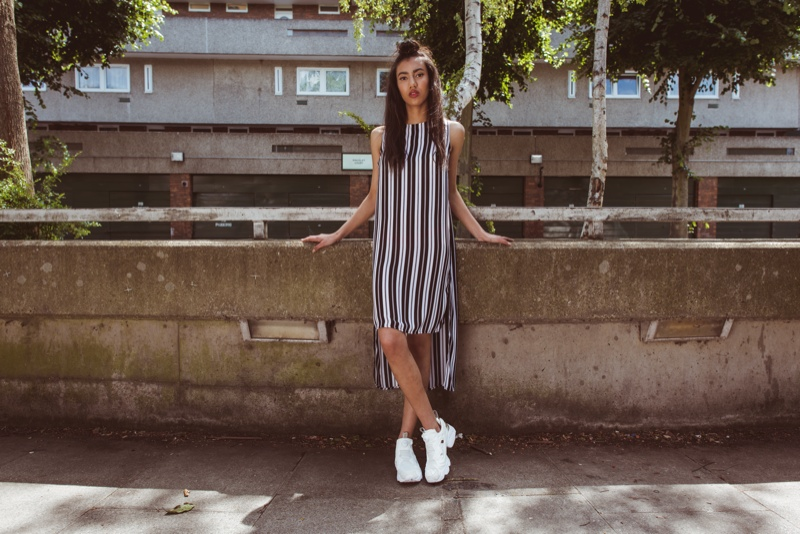 The sneaker brand went to Thamesmead, London for a street style shoot