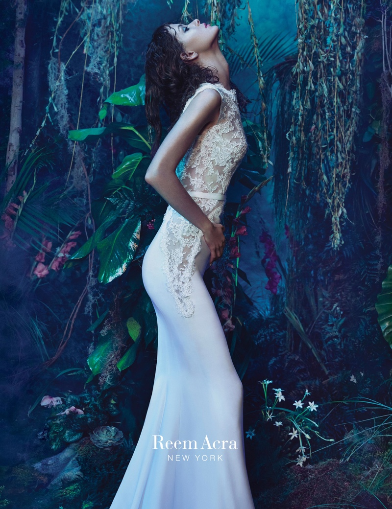 An image from Reem Acra's 2015 campaign