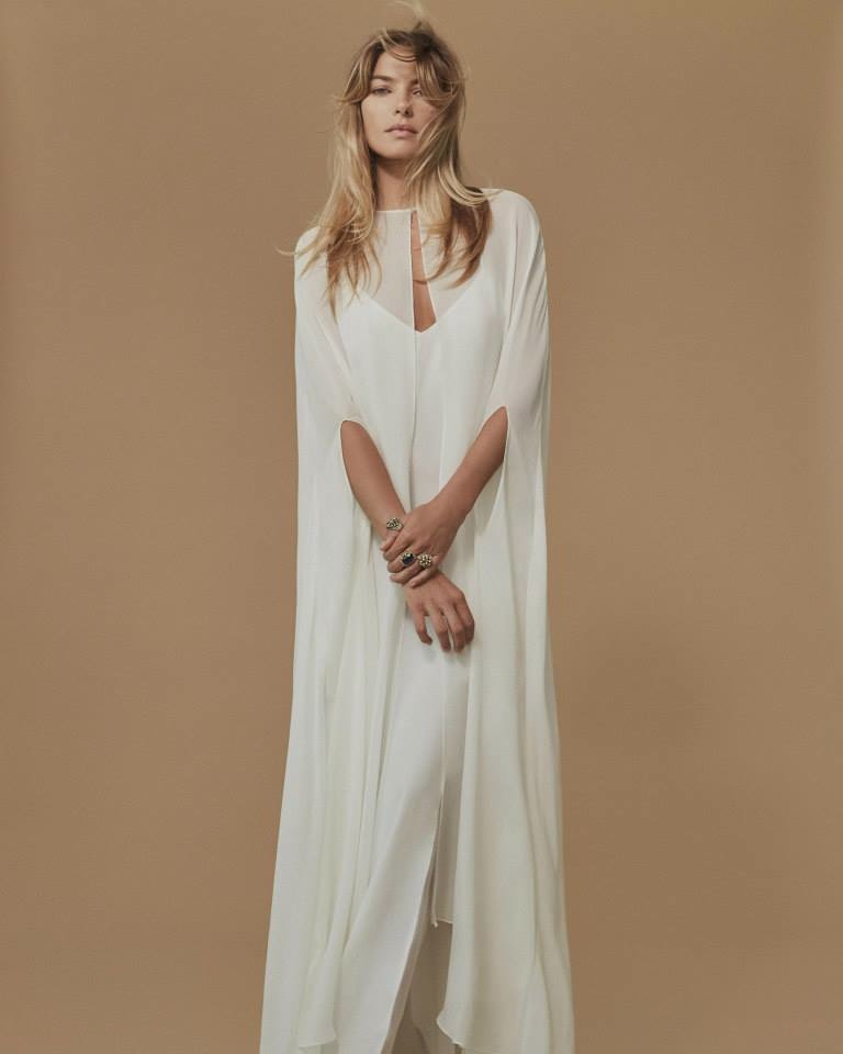 Jessica Hart stars in Reformation's fall 2015 wedding lookbook
