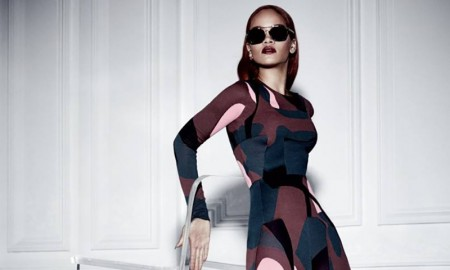 The pop superstar wears a curve-hugging bodysuit for the shoot