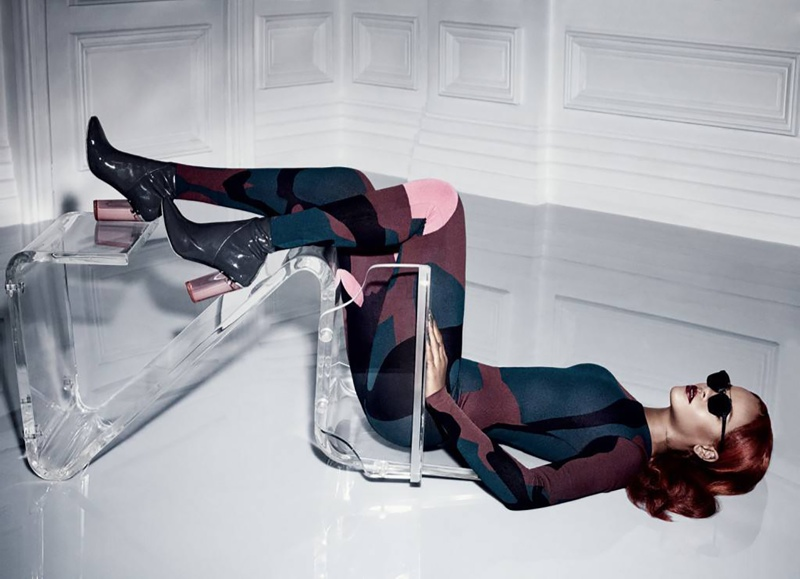 Rihanna turns model for images featured in Dior Magazine