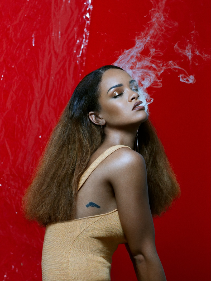 Rihanna Stars in Fader Magazine Cover Story