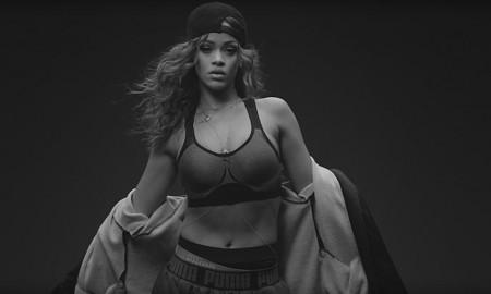 Rihanna stars in Puma television commercial spot
