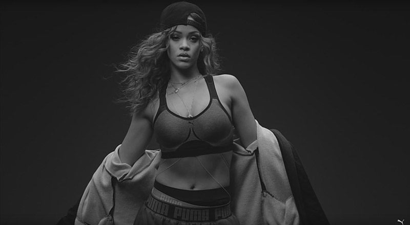 Rihanna Gets Instense in New PUMA Commercial
