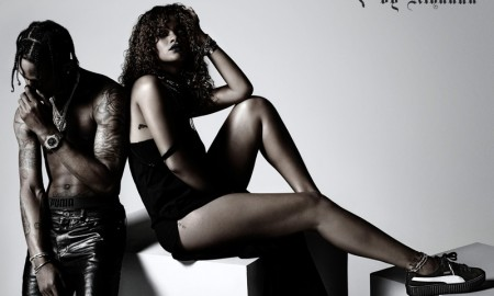 Rihanna stars in new PUMA campaign promoting her sneakers collaboration