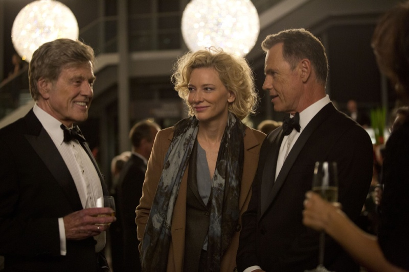 Robert Redford, Cate Blanchett and Bruce Greenwood in Truth. Photo: Sony Pictures Classic