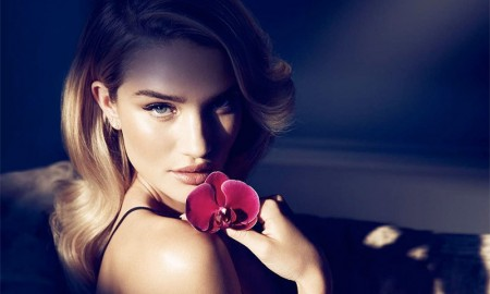Rosie Huntington-Whiteley for Autograph Nuit fragrance campaign