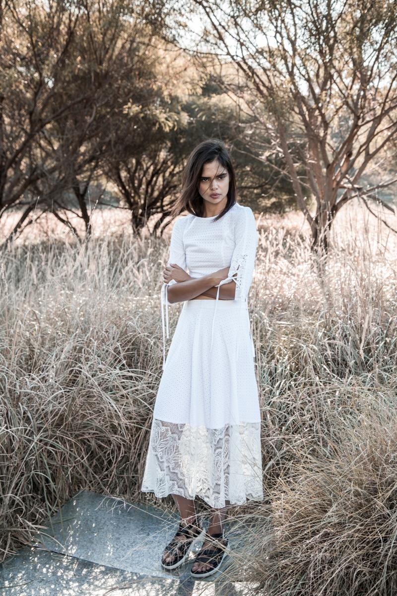 Samantha Harris Stars in Hansen & Gretel's Spring 2015 Campaign