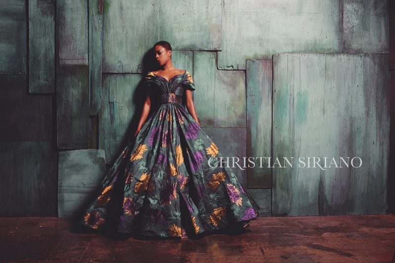 Samira wears ball gown from Christian Siriano