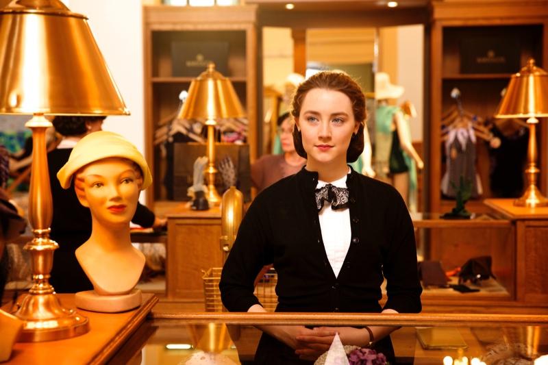 Saoirse Ronan in Brooklyn still. Photo: © 2015 Twentieth Century Fox Film Corporation