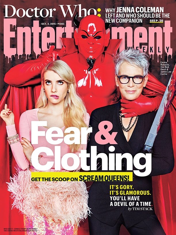 Emma Roberts & Jamie Lee Curtis Star in Entertainment Weekly