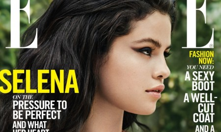 Selena Gomez on ELLE October 2015 cover