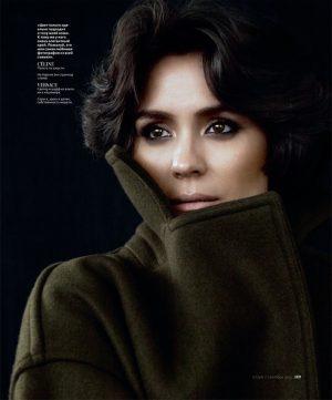 Shannyn Sossamon Wears Cozy Looks for InStyle Russia by Andrew Yee