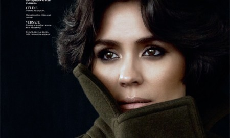 Shannyn Sossamon stars in InStyle Russia's September issue
