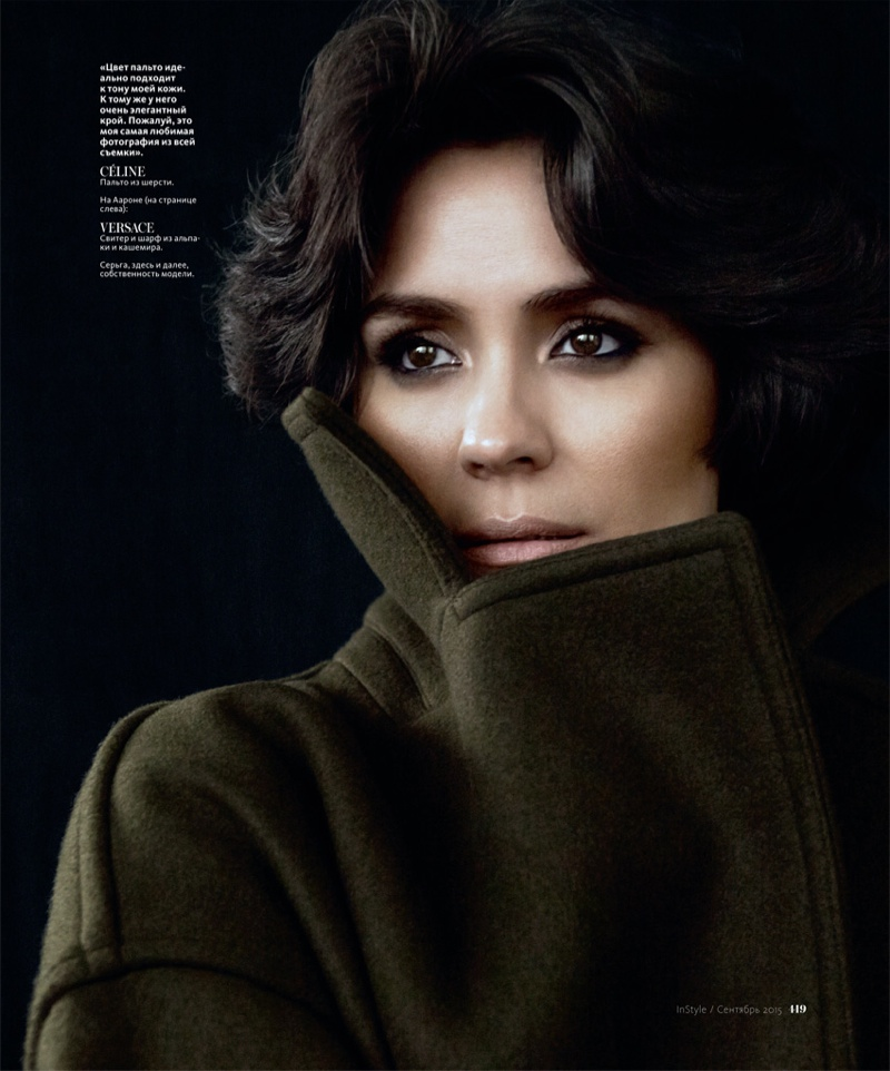 Shannyn Sossamon Wears Cozy Looks for InStyle Russia by Andrew Yee