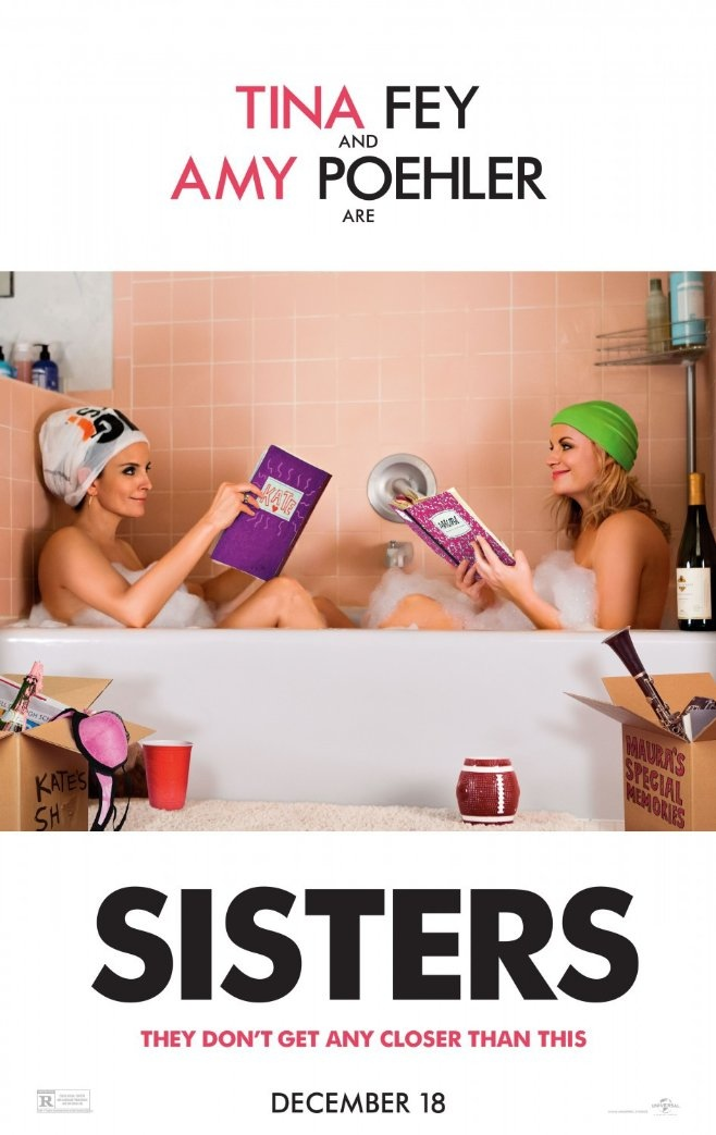 Sisters movie poster with Tina Fey and Amy Poehler