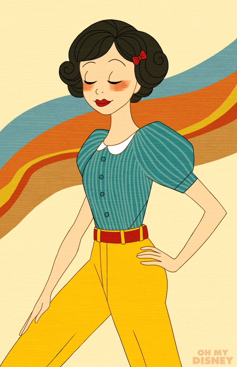 Snow White from 'Snow White and the Seven Dwarfs'