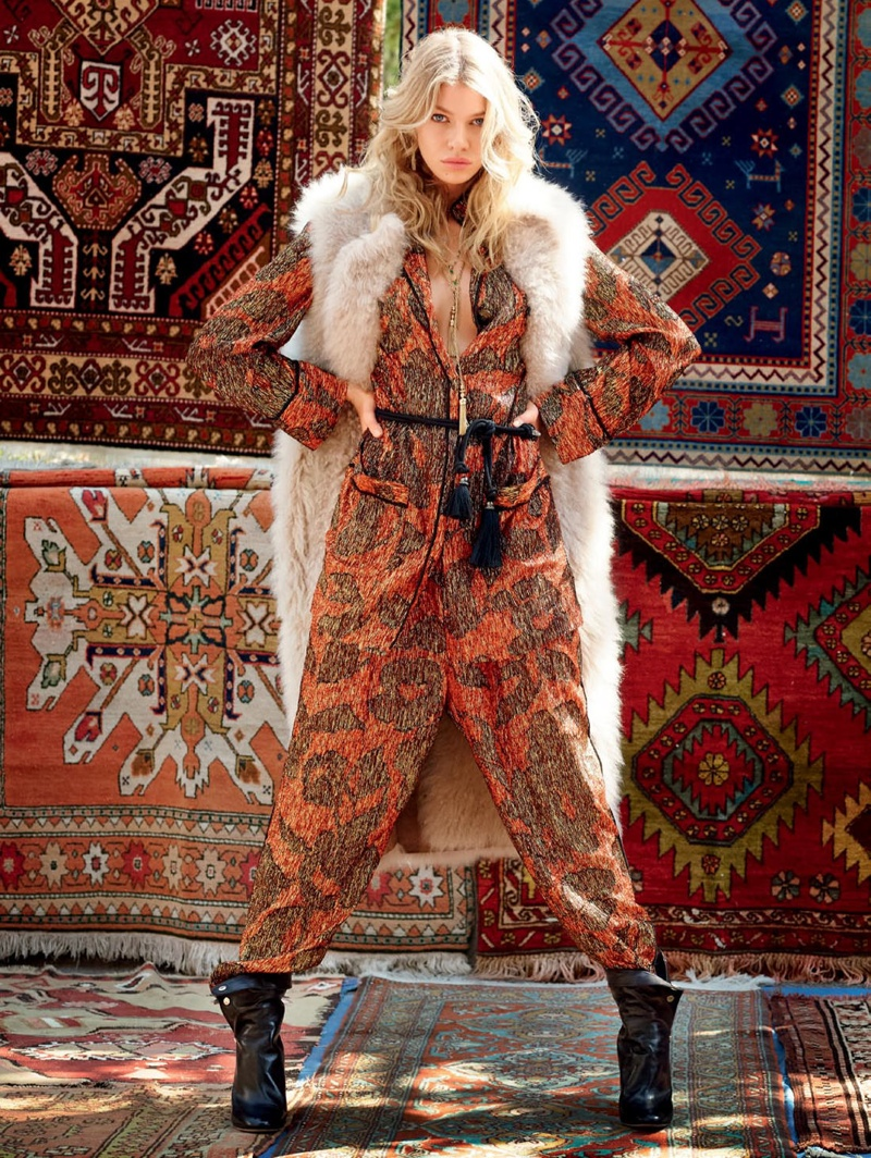 Stella Maxwell stars in Vogue Russia's October issue