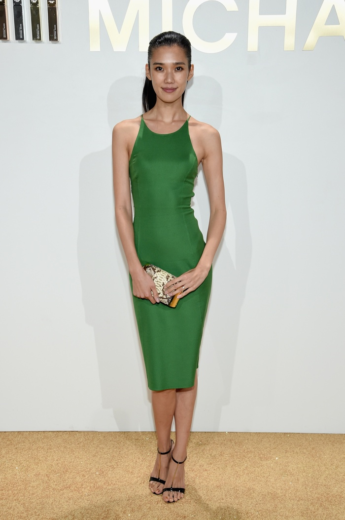 Tao Okamoto at Michael Kors Gold Fragrance Launch