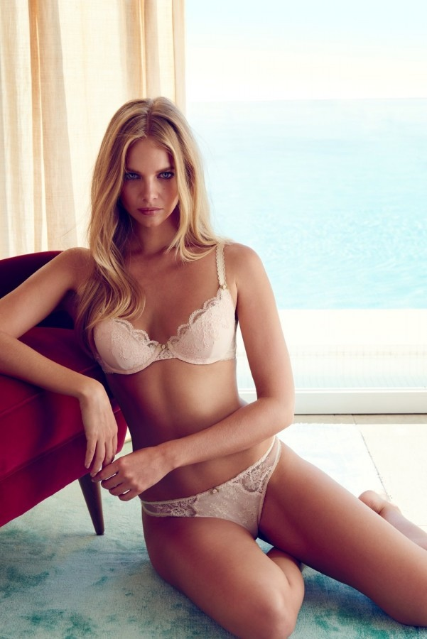 Marloes Horst - Target Australia X Collette Dinnigan Lingerie Collection