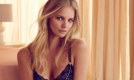 Marloes wears lingerie from the Target Australia x Collette Dinnigan collaboration