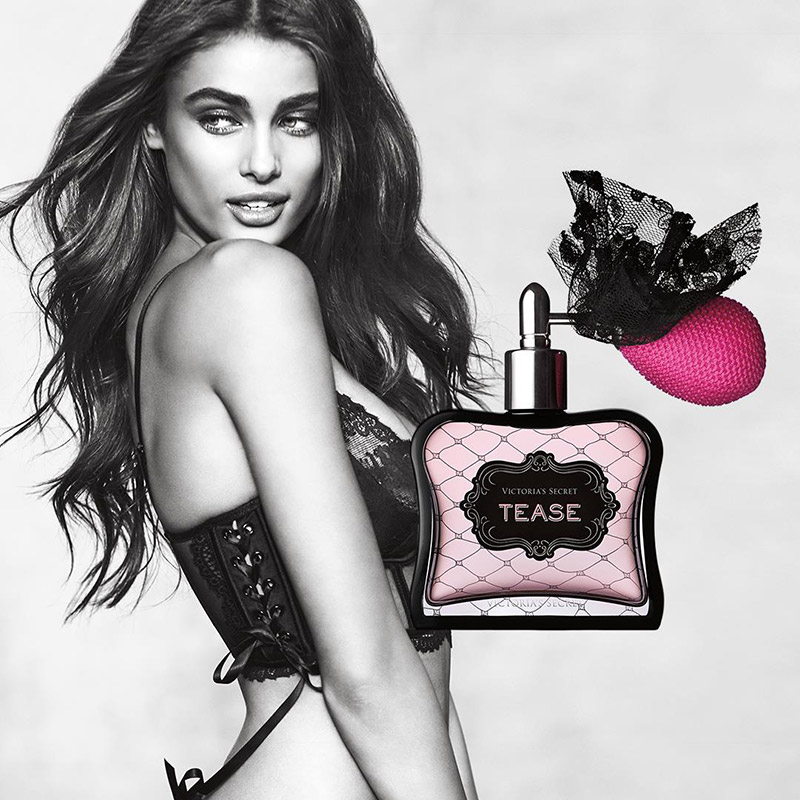 Taylor Hill in Victoria's Secret Tease Fragrance Campaign