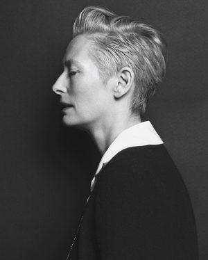 Tilda Swinton is Chanel Chic for Vogue Korea