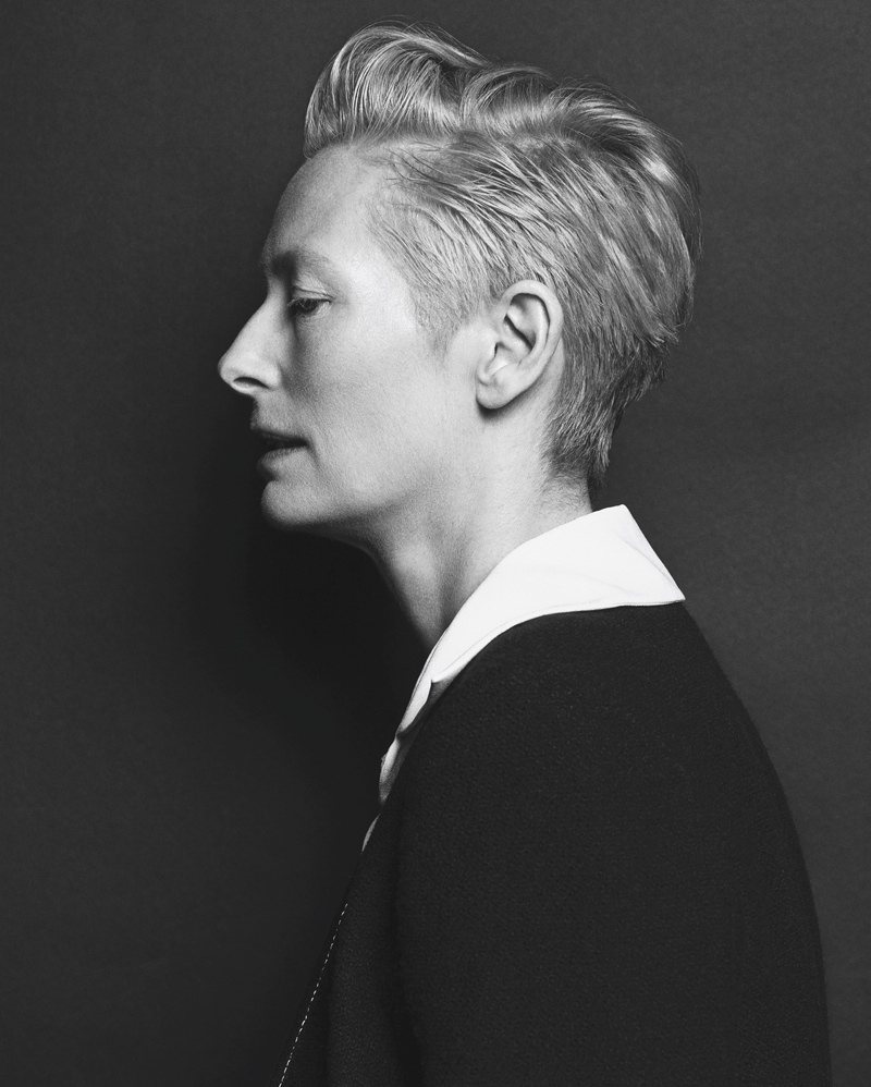 Tilda Swinton Chanel Vogue Korea August 2015 Photoshoot03