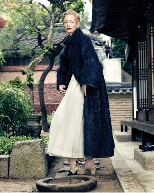 Tilda Swinton is Chanel Chic for Vogue Korea