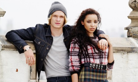 Tinashe and Cody Simpson pose in Cosmopolitan's October issue
