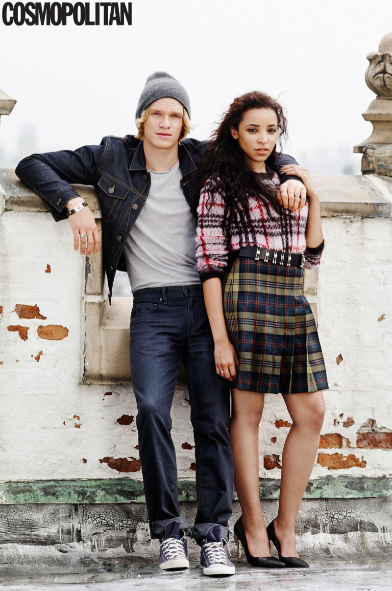 Tinashe Poses with Cody Simpson in Cosmopolitan Feature
