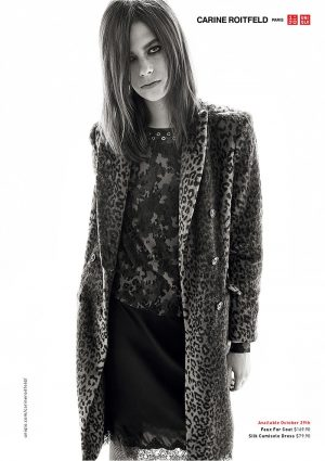 Lexi Boling Channels Carine Roitfeld for Stylist's Uniqlo Collaboration