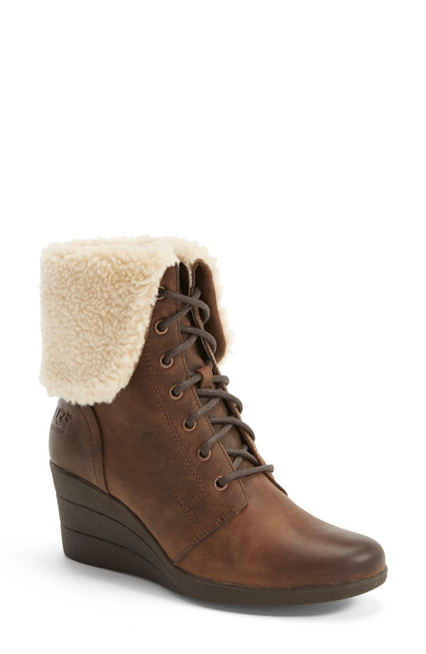 UGG Zea Waterproof Lace-up Bootie available for $174.95