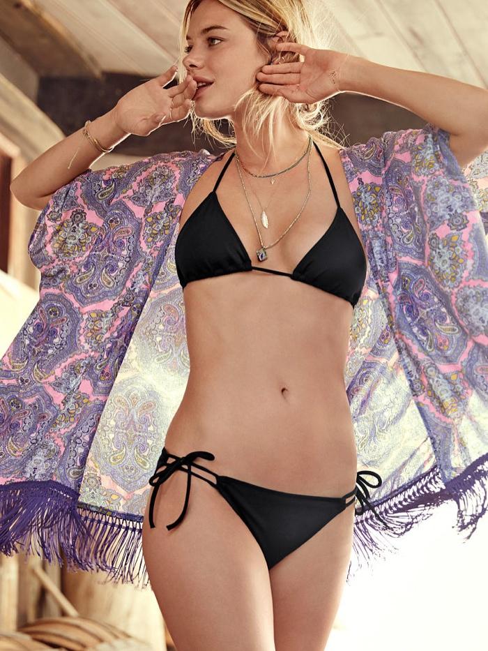 Victoria's Secret Fringe Kimono available for $24.99