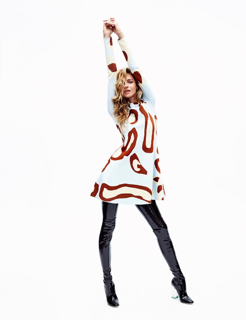 Valentina models a wardrobe all Dior fall 2015 looks