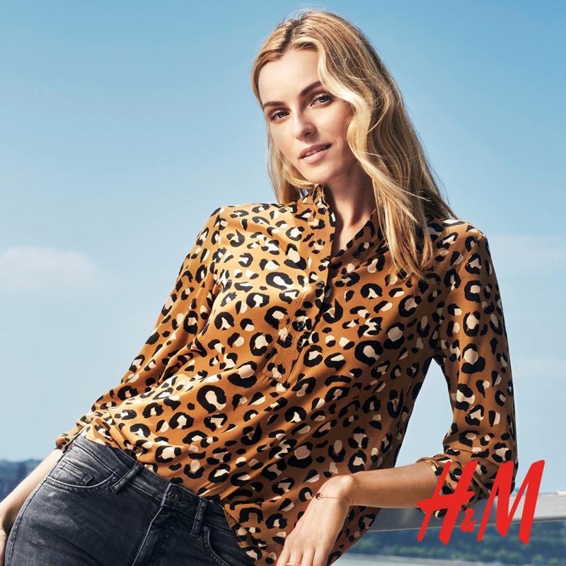 Valentina Zelyaeva stars in fall 2015 lookbook from H&M