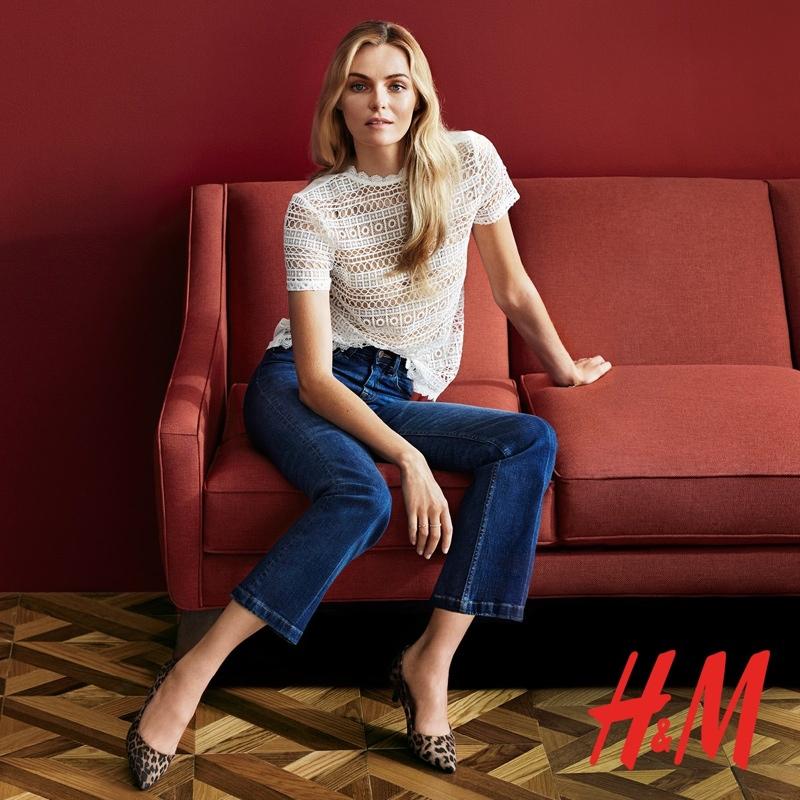 Valentina Zelyaeva Models H&M's Style Checklist