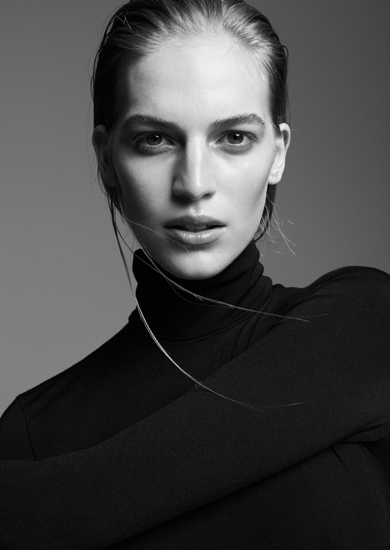 Vanessa Axente Models Minimal Style for Supernation #1 by Zoltan Tombor