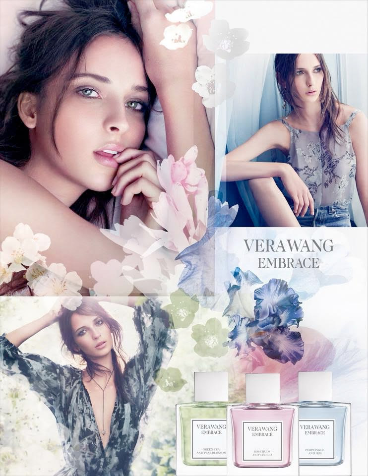 Waleska Gorczevski stars in Vera Wang Embrace fragrance campaign