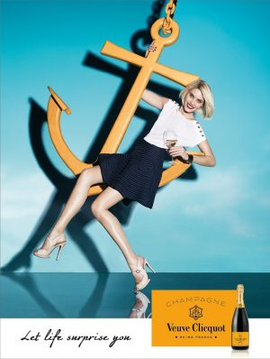 Veuve Clicquot Launches Stylish Champagne Campaign