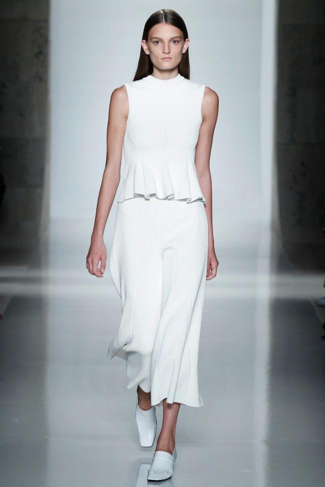 Victoria Beckham Spring 2016 | New York Fashion Week