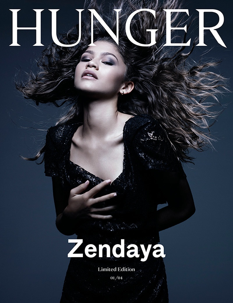 Zendaya on Hunger Magazine #9 Cover. Photo: Rankin