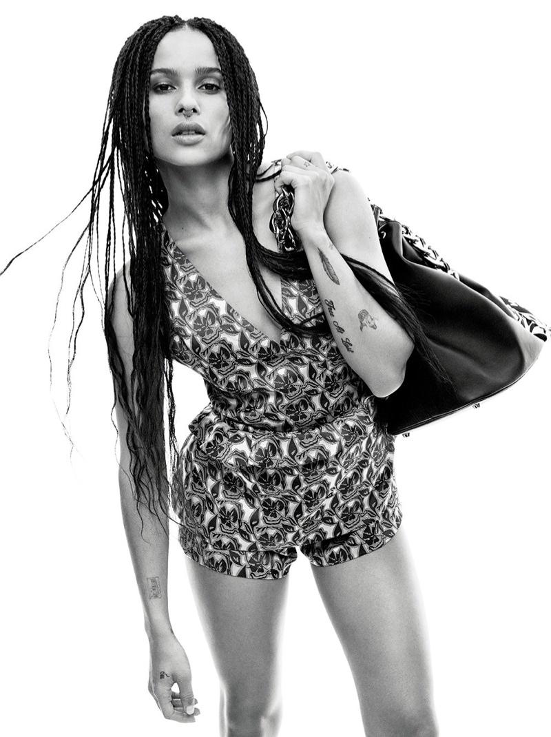 Zoe Kravitz Poses For C Magazine Talks The Inspiration