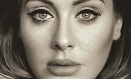 Adele on '25' album cover artwork photographed by Alasdair McLellan