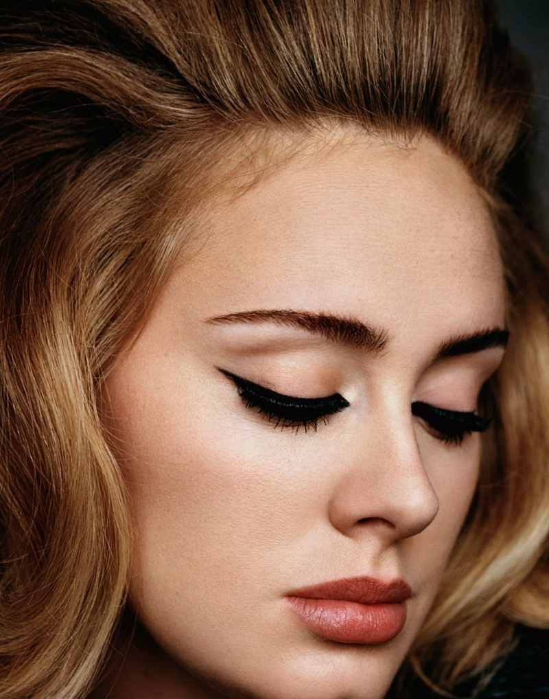 Adele Poses for i-D & Talks About Her New Album
