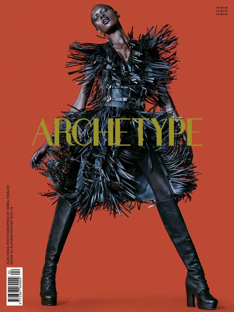Ajak Deng & Tian Yi Team Up For Archetype #4 Fall-winter 2015