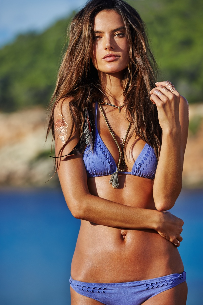 ALESSANDRA AMBROSIO: Brazilian model Alessandra Ambrosio is most famous for being a Victoria's Secret Angel. First named an Angel in 2004, Alessandra has went on to launch her own swimsuit and clothing apparel company called Ale by Alessandra in 2014. In 2007, she was named one of the World's Most Beautiful by People Magazine. Alessandra also has acting aspirations--appearing in a Brazilian telenovela in 2015 and set to star in the sequel to 'Teenage Mutant Ninja Turtles' in June 2016.