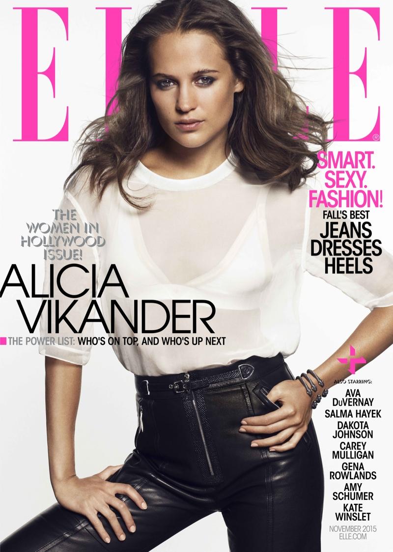 Kate Winslet, Amy Schumer, Dakota Johnson Cover ELLE's Women In Hollywood Issue